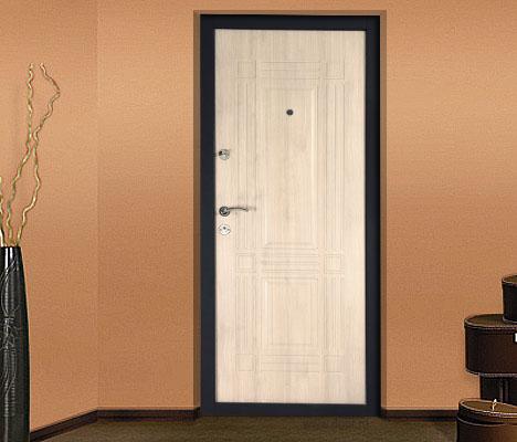 дизайн входной двери дуб
