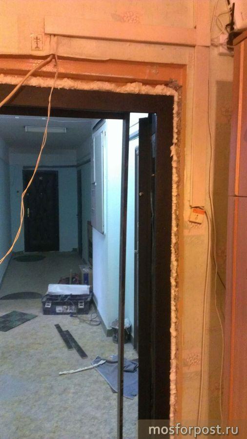 Демонтаж железной двери цена