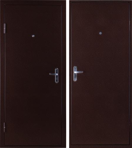 купить дверь металлическую двойную эконом