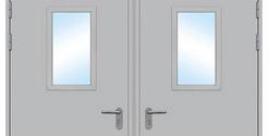 Характеристики металлических технических дверей