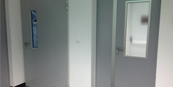 Установка и монтаж технической двери