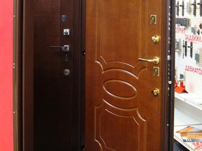 металлические двери с повышенной к взлому